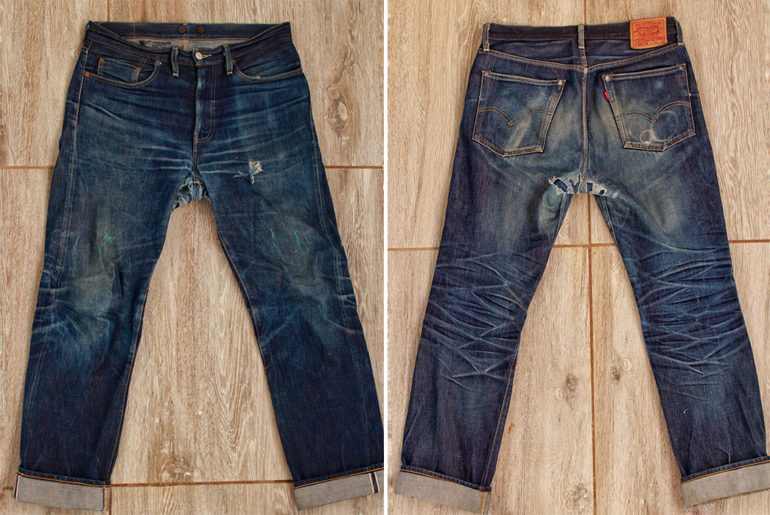 Fade-of-the-Day---Levi's-Vintage-Clothing-1954-501Z-(~2-Years,-2-Washes,-3-Soaks)-front-back</a>