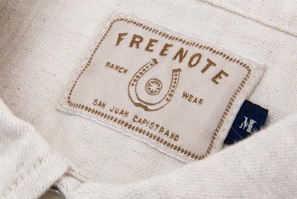 Freenote-Calico-Cream-Shirt-inside-brand