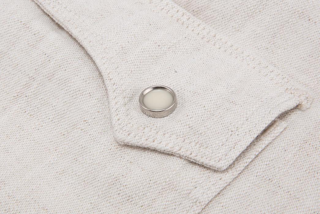 Freenote-Calico-Cream-Shirt-pocket-button