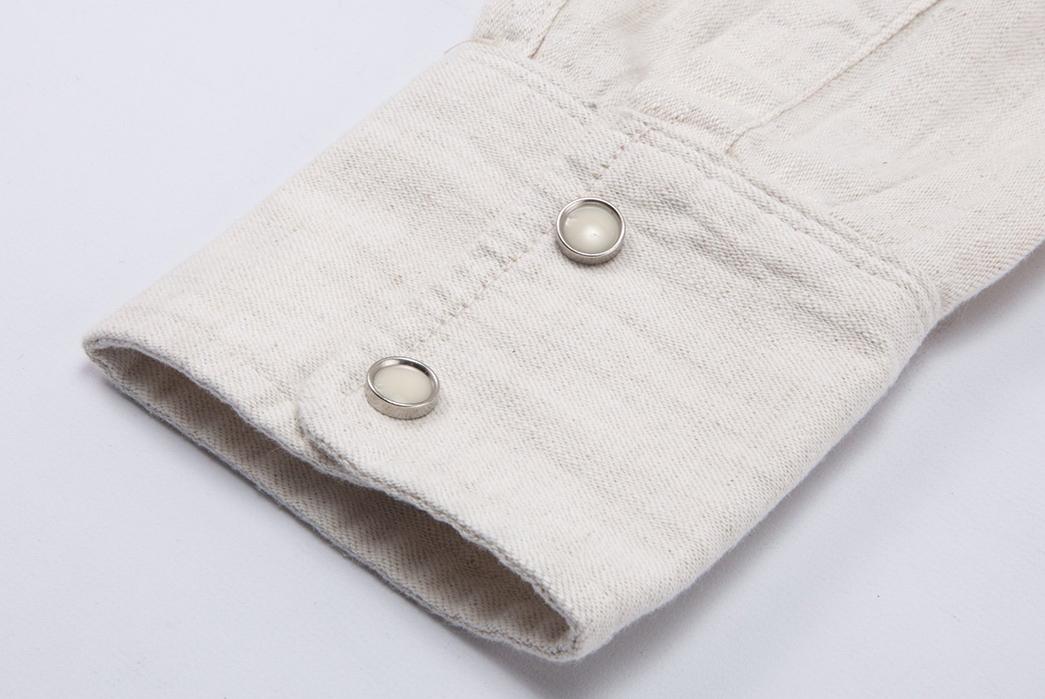 Freenote-Calico-Cream-Shirt-sleeve