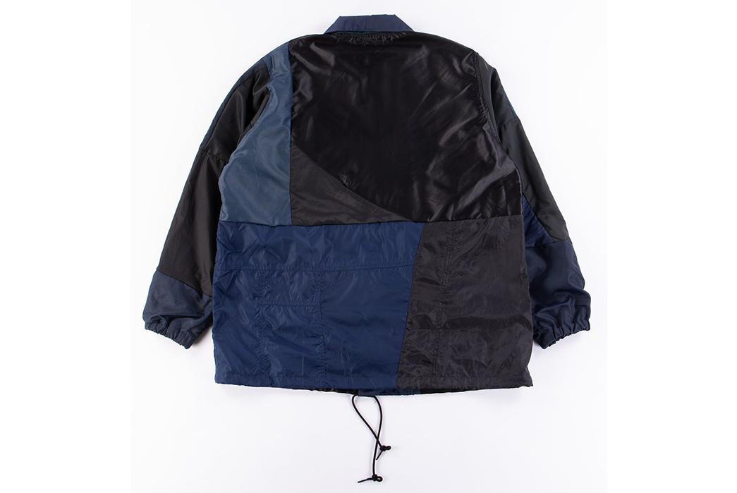 Needles-Rebuild-Coach-Jacket-blue-black back