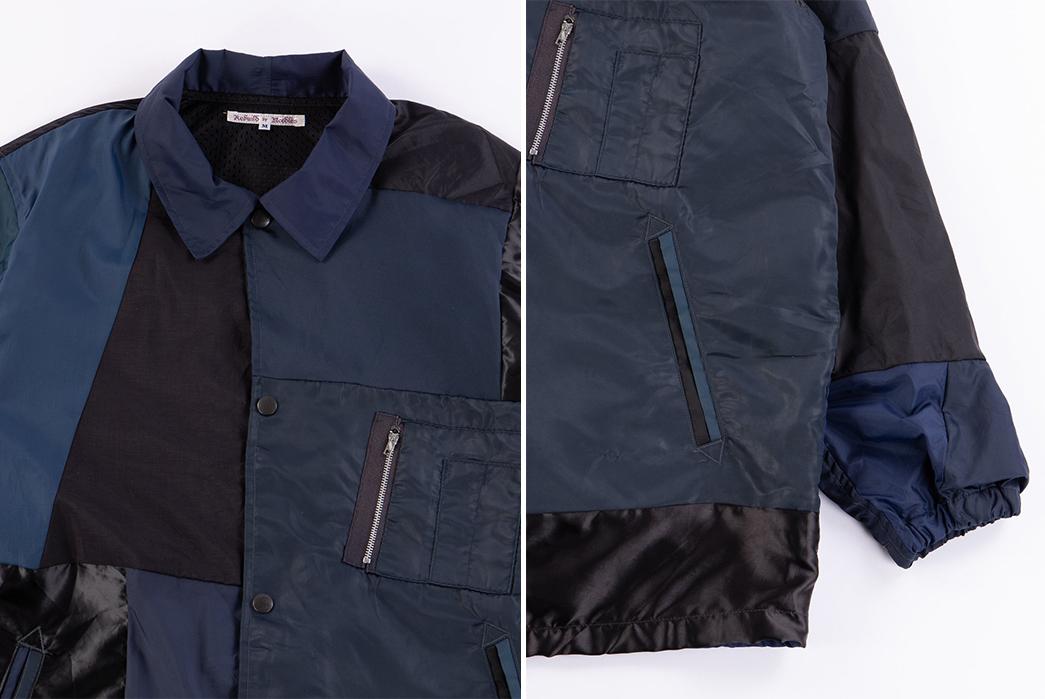 Needles-Rebuild-Coach-Jacket-blue-black-detailed