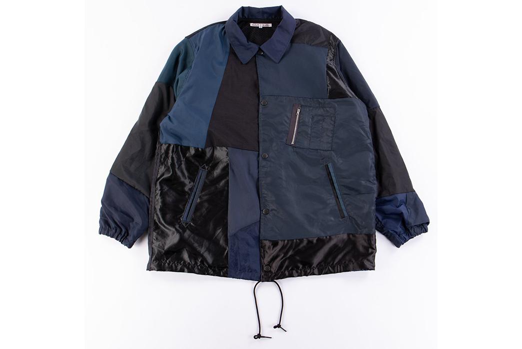 Needles-Rebuild-Coach-Jacket-blue-black-front