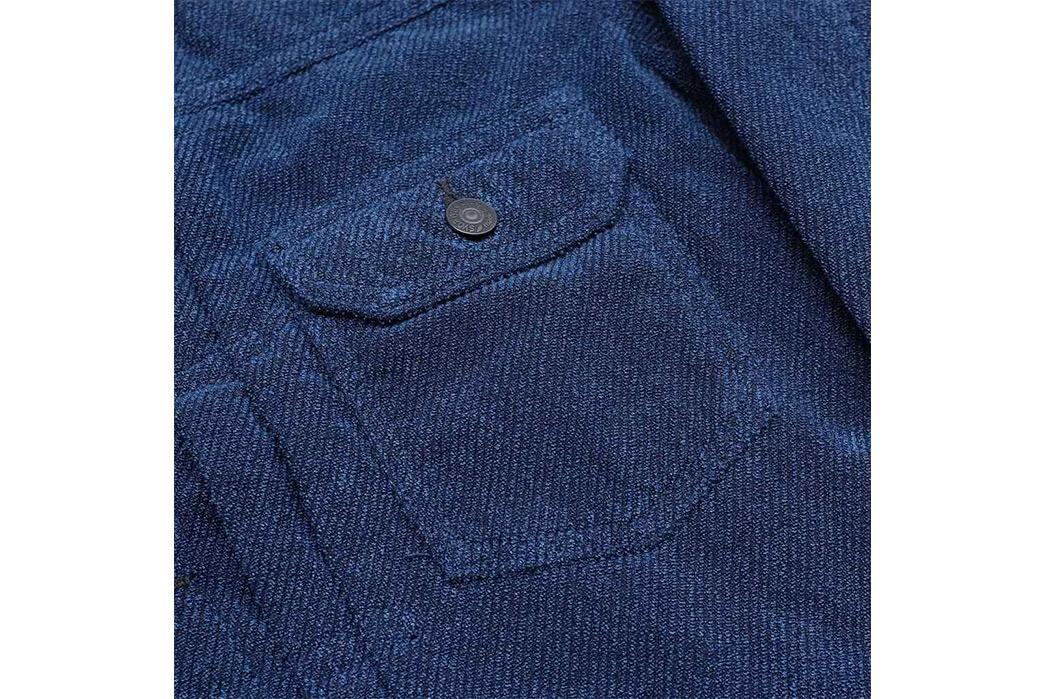 Pure-Blue-Japan-Indigo-Dyed-Towel-Type-II-Jacket-front-pocket