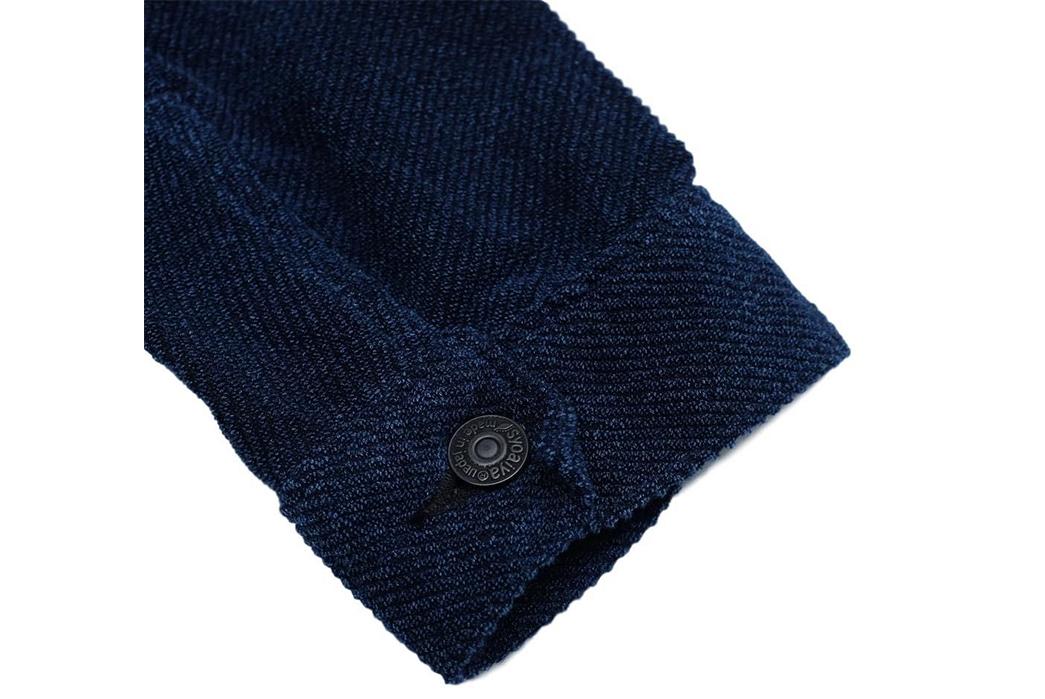 Pure-Blue-Japan-Indigo-Dyed-Towel-Type-II-Jacket-sleeve