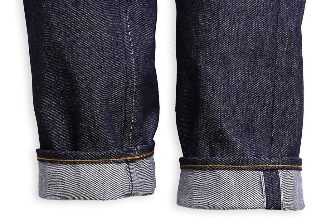 Railcar-Fine-Goods-X052-Slim-Spikes-Jeans-leg-selvedges