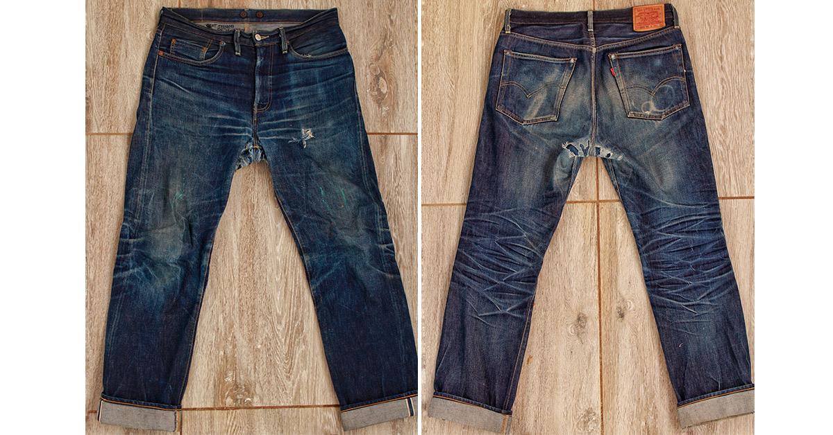 c71c5de04c2 Levi's Vintage Clothing 1954 501Z (~2 Years, 2 Washes, 3 Soaks ...