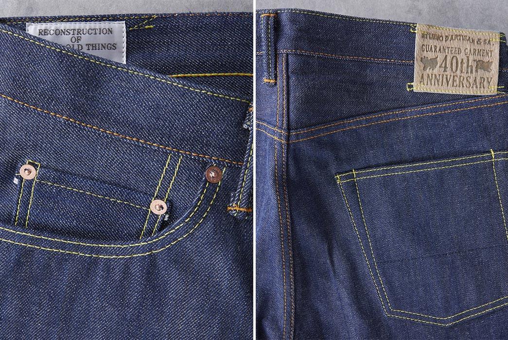 Studio-D'Artisan-SP-031-40th-Gent-Natural-Indigo-front-back-pocket