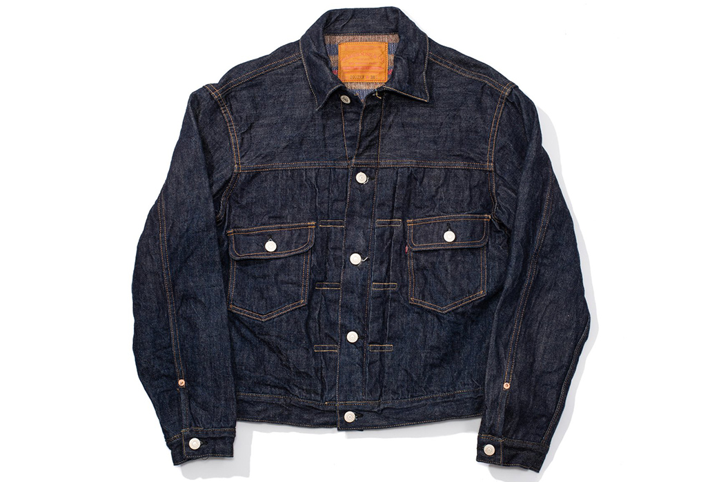 The-Three-Tiers-of-Denim-Jacket-Warehouse-&-Co.-2002XX-Blanket-Lined-Denim-Jacket