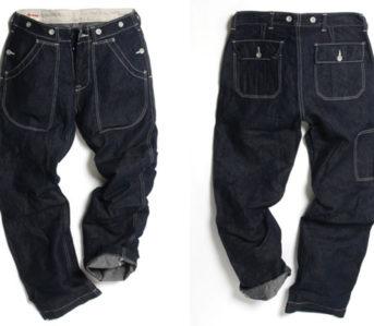 UES-Multi-Pockets-Work-Pants-front-back