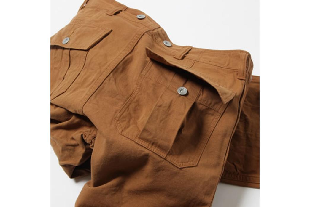 UES-Multi-Pockets-Work-Pants-orange-wrinkle