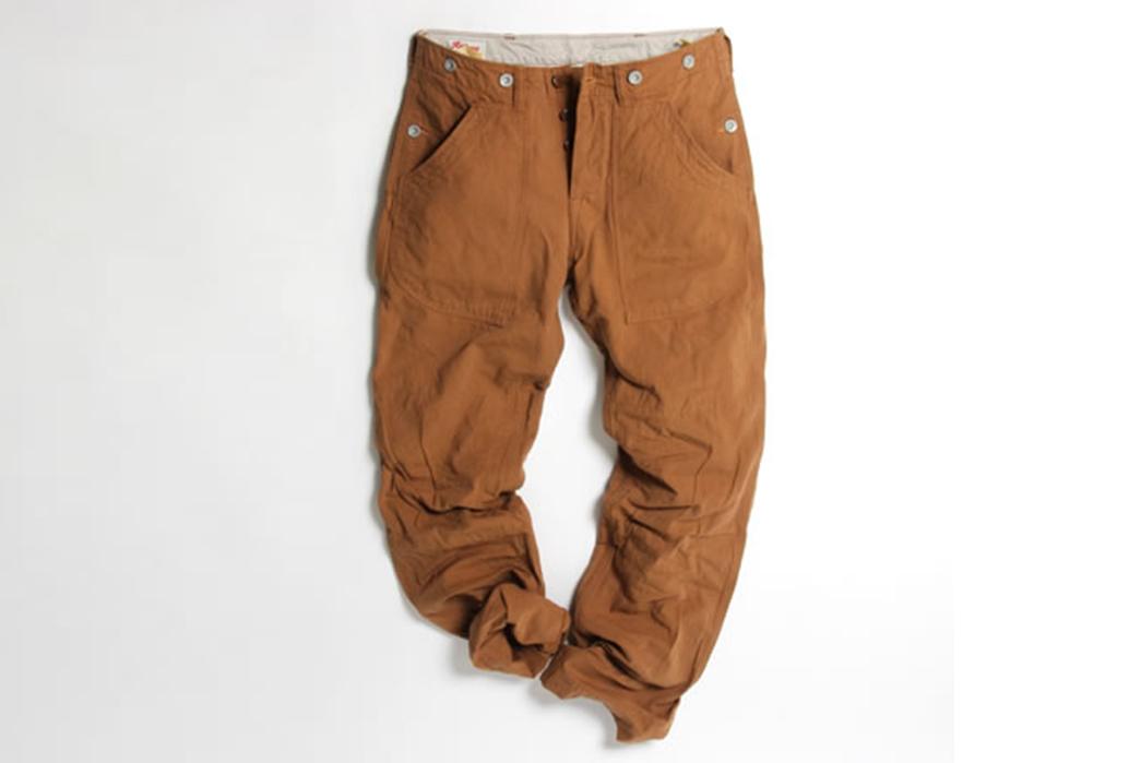 UES-Multi-Pockets-Work-Pants-orange