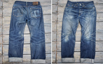 Fade-of-the-Day---RRL-Straight-Cut-Selvedge-(~2.5-Years,-15-Washes,-2-Soaks)-front-and-back