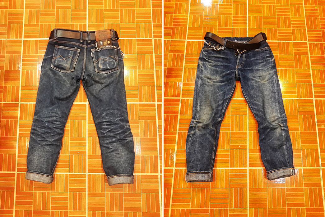 Fade of the Day - Sage 6th Anniversary Everest (7 Months, 2 Washes, 2 Soaks)-front-and-back