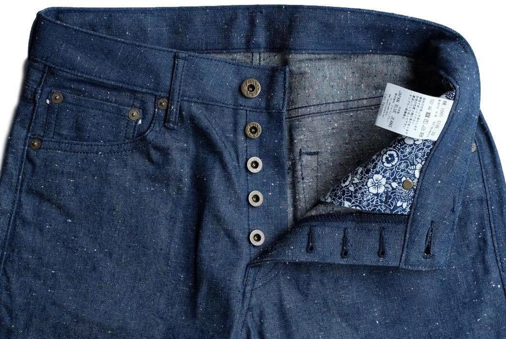Japan-Blue-10oz.-Dog-Days-Nep-Selvedge-Jeans-front-top