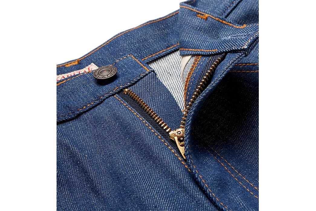 Kapital-Bob-Marley-Wide-Leg-Printed-Denim-Jeans-front-top-zipper