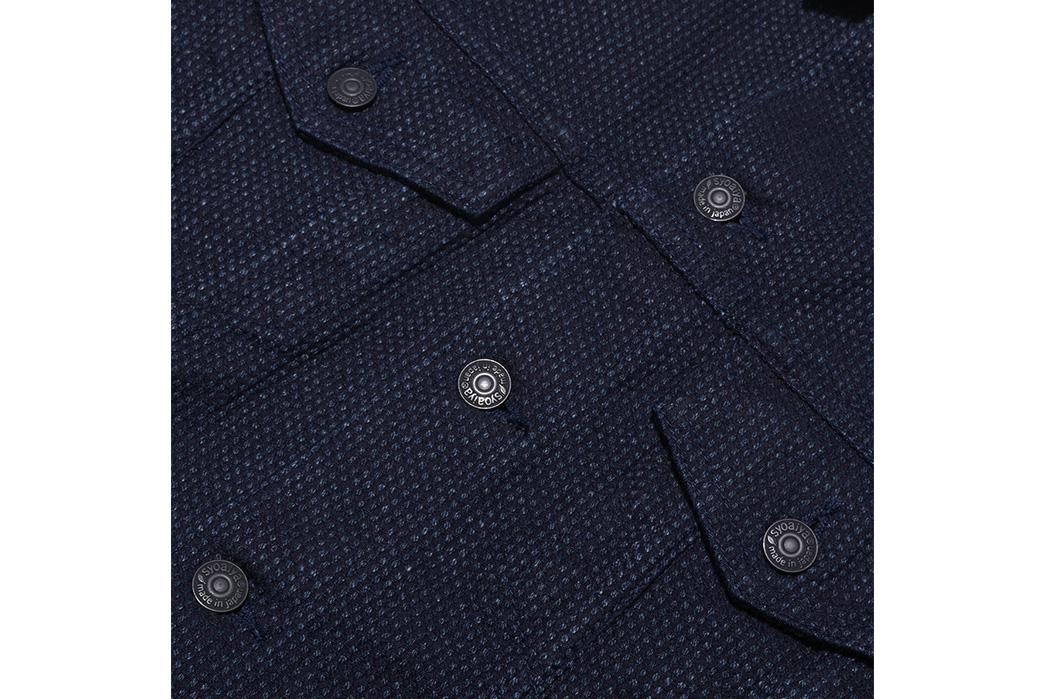 Pure-Blue-Japan-Sashiko-Denim-Type-3-Jacket-front-buttons