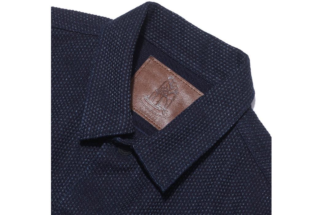 Pure-Blue-Japan-Sashiko-Denim-Type-3-Jacket-front-collar
