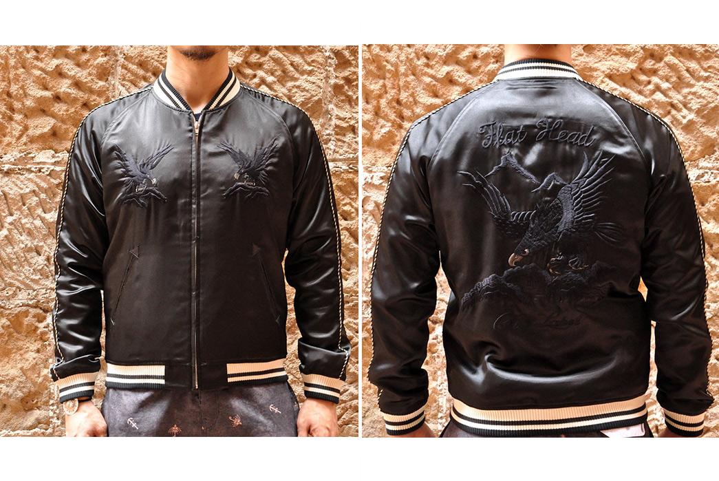 Souvenir-Jackets---Five-Plus-One-3)-The-Flat-Head-Black-Eagle-Souvenir-Jacket