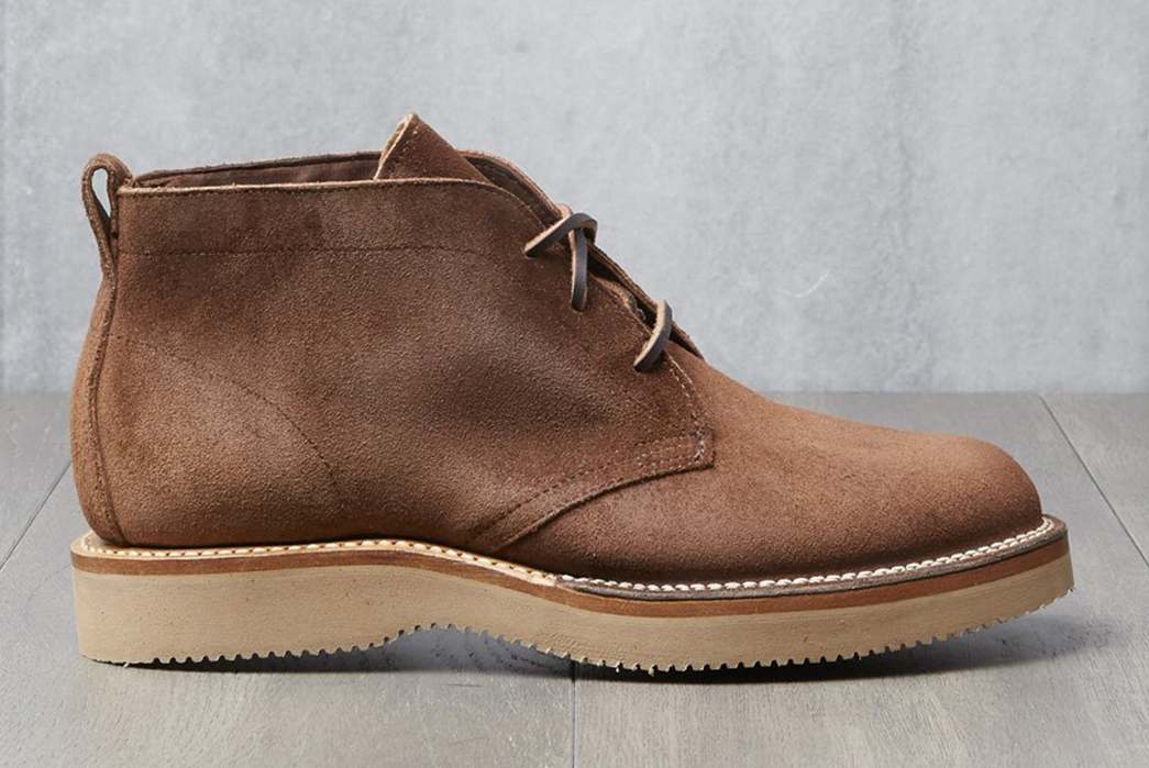Viberg-x-Division-Road-Tobacco-Chamois-Roughout-Chukka-Boot-single-side