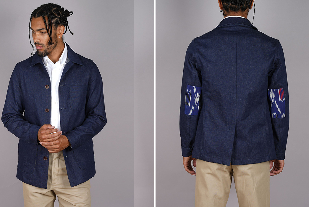 Epaulet-Employs-Handwoven-Indian-Ikat-into-Their-Most-Popular-Garments-front-and-back-2