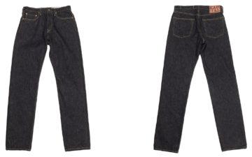 Kapital-5P-Monkey-Cisco-Indigo-Jeans-front-and-back