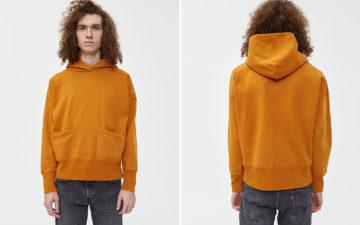 Levi's-Vintage-Clothing-1950s-Sportswear-Hoodie-model-front-back