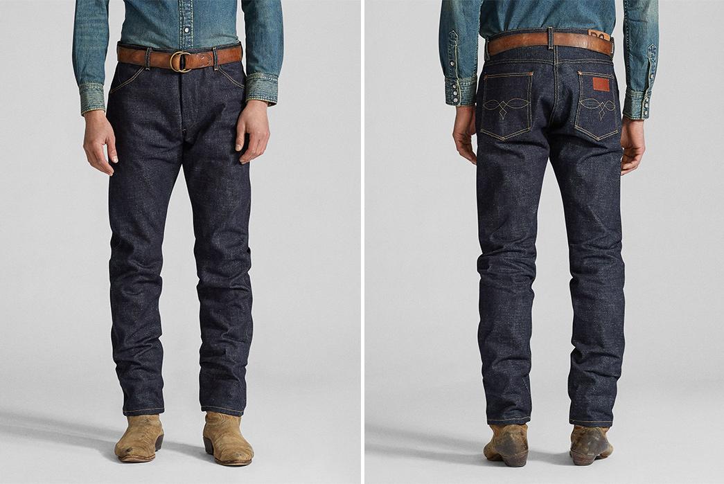 RRL-Limited-Edition-High-Slim-Jean-model-front-back