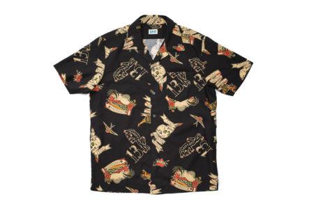 Schott-Hawaiian-Shirts-black-front-2