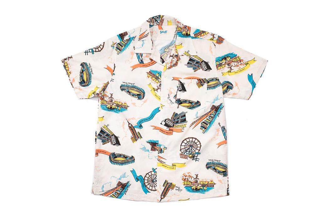 Schott-Hawaiian-Shirts-white front