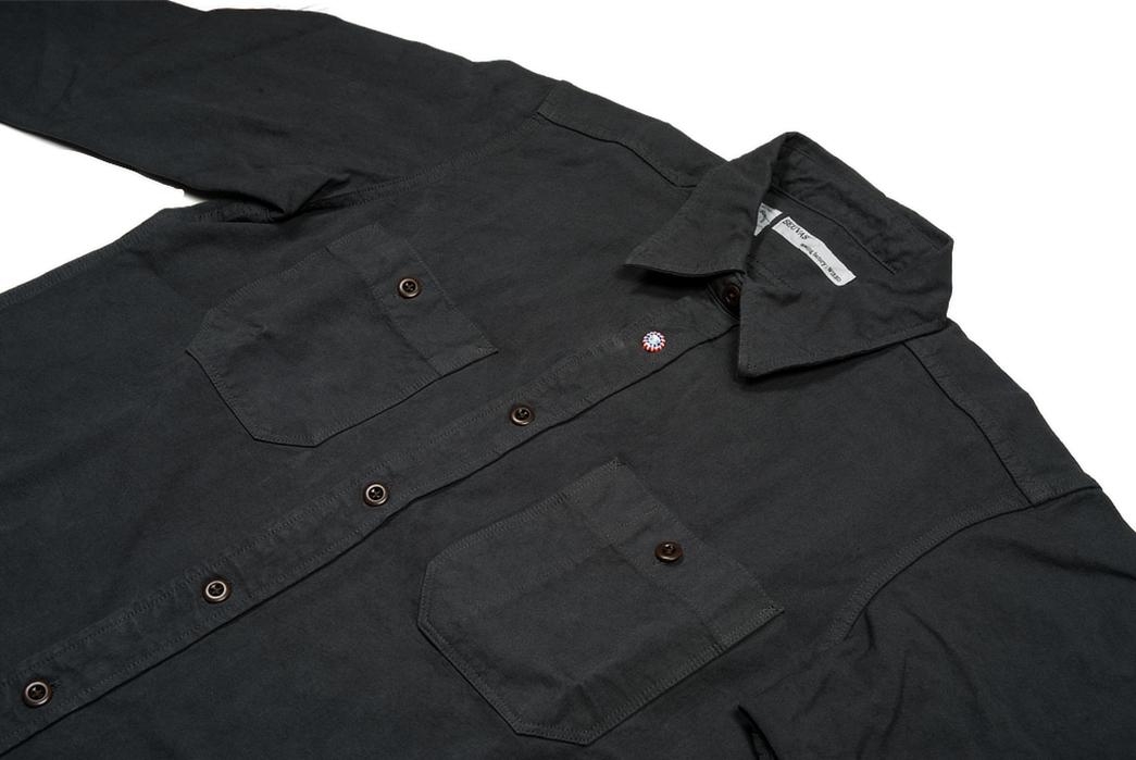 Seuvas-Canvas-Workshirts-dark front-detailed
