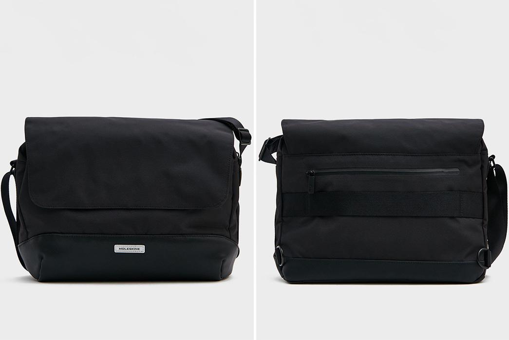 Techwear-Messenger-Bags---Five-Plus-One-4)-Moleskin-Slim-Nylon-Messenger-Bag
