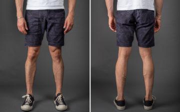 The-Flat-Head-Bird-&-Palm-Tree-Shorts-model-frotn-back
