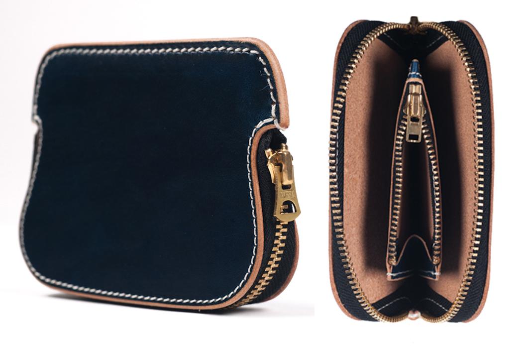 Zip-Wallets---Five-Plus-One-4)-Iron-Heart-Zippered-Cowhide-Wallet