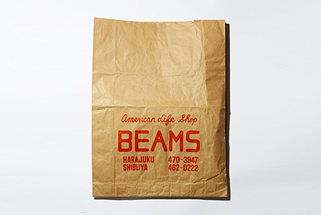 Beams-A-Brand-That-Shaped-Modern-Menswear-American-Life-Shop-BEAMS-bag-used-from-1976-78-(image-via-BEAMS).