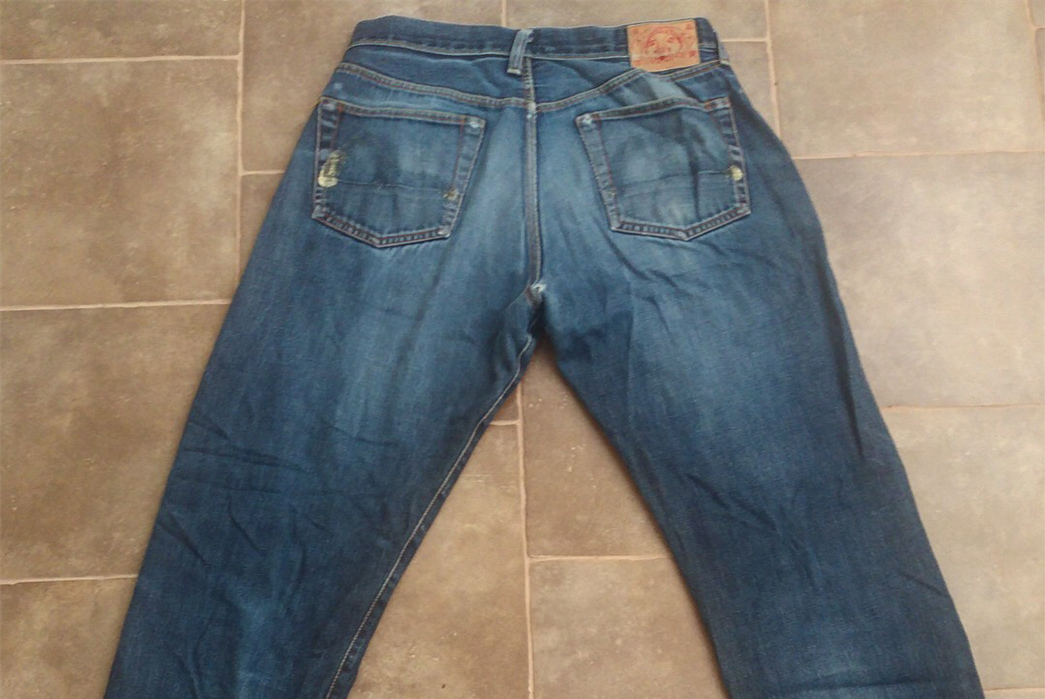 Fade of the Day - Evisu EV0001 (20 Years, Unknown Washes) back-3