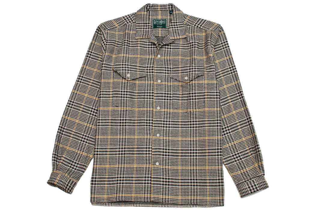 Gitman-Vintage's-New-Fall-Shirting-Has-Arrived-black-and-yellow