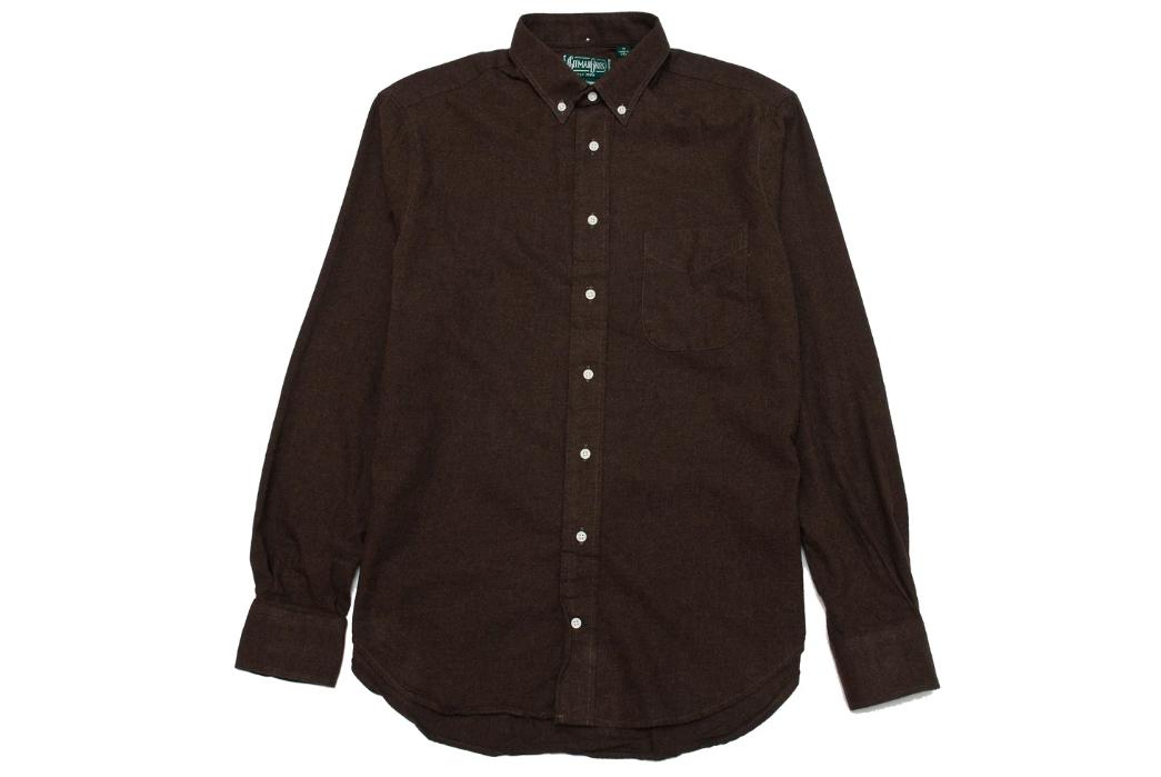 Gitman-Vintage's-New-Fall-Shirting-Has-Arrived-brown