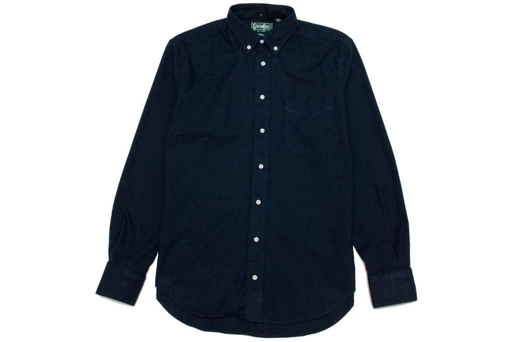 Gitman-Vintage's-New-Fall-Shirting-Has-Arrived-dark-blue-2