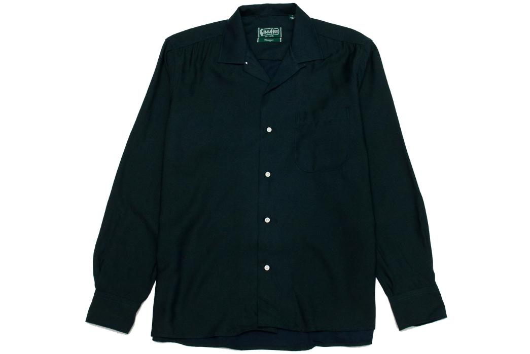 Gitman-Vintage's-New-Fall-Shirting-Has-Arrived-dark-green