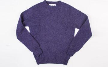 Harley-of-Scotland-Shetland-Sweaters-purpple