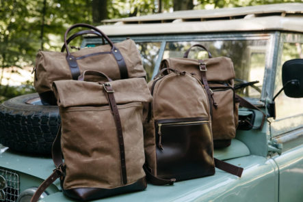 Loyal-Stricklin's-Brush-Brown-Collection-Blends-Waxed-Canvas-and-Horween-Leather