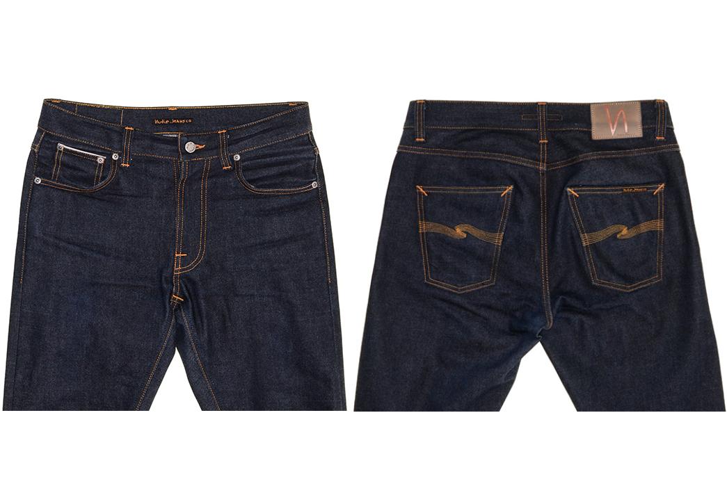 Nudie-Lean-Dean-Japan-Selvedge-Raw-Denim-Jeans-front-back-top