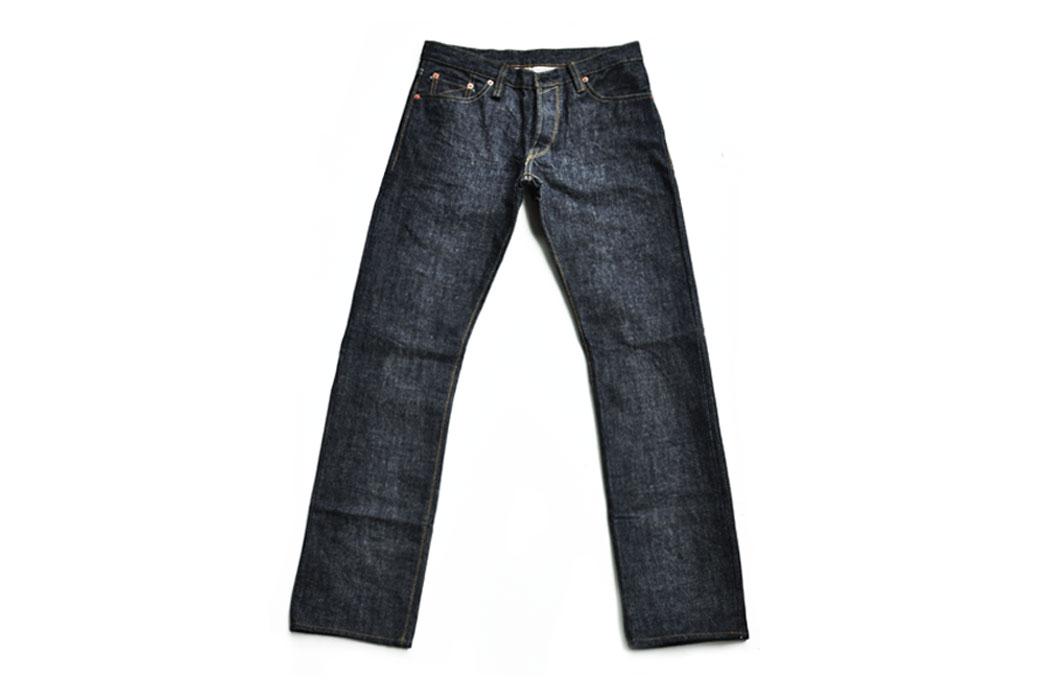 Sage Ranger III 19 oz. Raw Denim Jeans