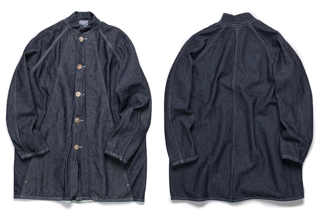 Tender's-Zoetrope-Coat-Uses-Origami-Magic-indigo-front-back