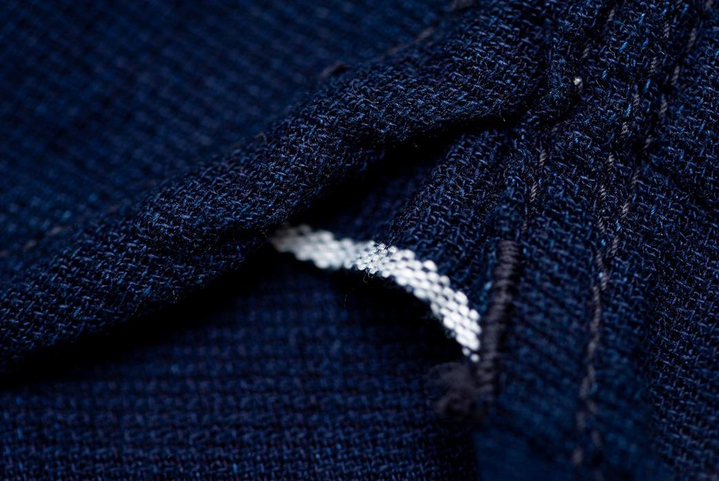 The-Flat-Head-8oz.-Indigo-Dobby-Western-Shirt-detailed