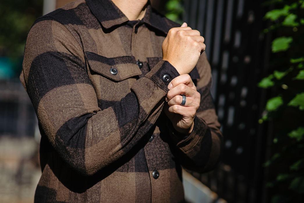 3sixteen-Fatigue-Overshirt-model-front-sleeve