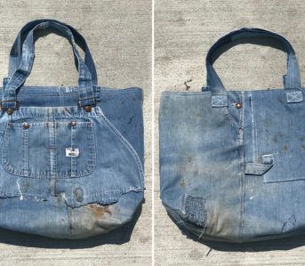Blue-Collar-Collective-Repurposes-Vintage-1950s-Overalls-into-Totes-blue-front-back