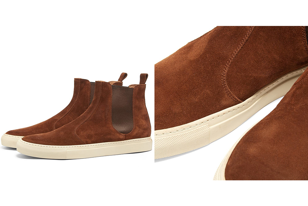 Chelsea-Boots---Five-Plus-One 1) Buttero: Tanino Suede Chelsea Boot
