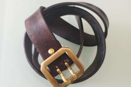 Fade of the Day - Obbi Good Label Double Prong Belt (3 Years) detailed
